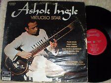 ASHOK INGLE lp VIRTUOSO SITAR LONDON INTERNATIONAL SW 99482