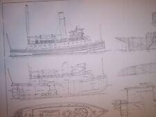 BROOKLYN TUG BOAT model plan