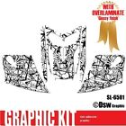 SLED WRAP DECAL STICKER GRAPHICS KIT FOR SKI-DOO REV MXZ SNOWMOBILE 03-07 SL6501