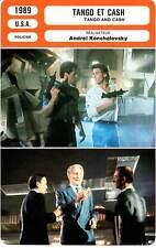FICHE CINEMA : TANGO ET CASH - Stallone,Russell,Hatcher,Palance1989 Tango & Cash