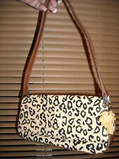 Liz Claiborne Paper Straw Purse Hand Bag HAND/Shoulder Bag W/PALM TREE HANG TAG