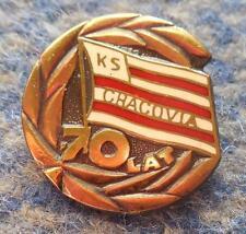 CRACOVIA KRAKOW 70 JUBILAUM /1906-1976/ POLEN FUSSBALL FOOTBALL ANSTECKNADEL