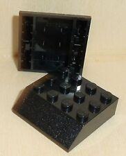 Nr.9525 Lego 30182 City 2 Dachsteine 45° 4x4  schwarz  -  black