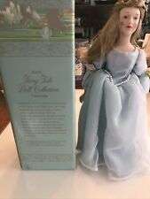Avon Fairy Tale Cinderella Porcelain Doll Collection with Box. Made in 1984 Nib