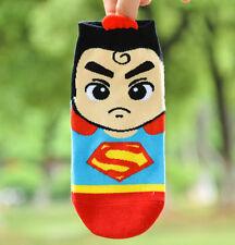 NEW Fashion Cute  Cartoon Cotton Socks  Boat socks Short superman socks 1 pair