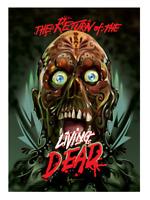 Return of the Living Dead Blu Ray Orlando Arocena Artwork Insert Brand NEW