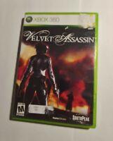 Velvet Assassin (Microsoft Xbox 360, 2009)   COMPLETE    FAST SHIPPING SOUTHPEAK