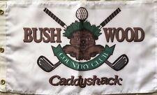 Caddyshack Bushwood Country Club Gopher logo golf 12x21 soft fabric pin flag NEW