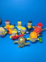 2020 McDONALD'S Minions Rise of Gru Dreamworks HAPPY MEAL TOYS 1 GOLD