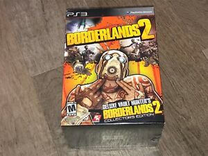 Borderlands 2 Collector's Edition PlayStation 3 PS3 Brand New Factory Sealed