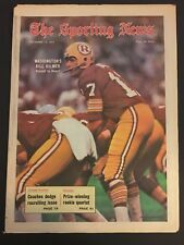 1971 Sporting News WASHINGTON Redskins KILMER No Label GEORGE ALLEN Larry BROWN