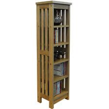 MISSION - Wooden CD / Media Storage Shelves - Light OC1083
