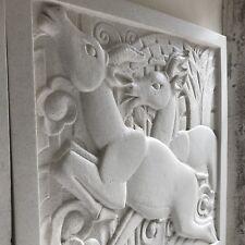 Art Deco Sculpted Plaque - Left Hand
