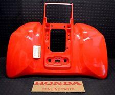 HONDA 400EX REAR FENDER BRAND NEW GENUINE HONDA!! 1999-2007 PLASTIC RED FENDER
