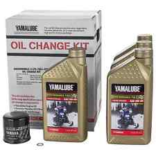 YAMAHA 4-Cylinder Snowmobile Full-Synthetic Oil Change Kit LUB-SMBCG-KT-16