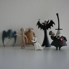 Nightmare Before Christmas Collectors Plastic Mini Figurine Toy Set
