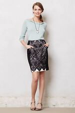 NWT Anthropologie Ilta Lace Pencil Skirt by Nanette Lepore Regular 2