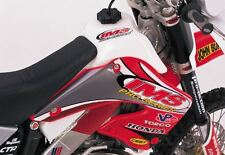 IMS Oversized 3.7 Gallon Fuel Gas Tank WHITE Honda CR125 CR250 CR 2000-2001
