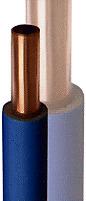 TUBO RAME RIVESTITO X RISCALDAMENTO D.12mm IN ROTOLI (50 MT) 10/91 CERTIF.AL MT.