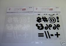 2-Inch STATE-IT! Iron-On Transfers