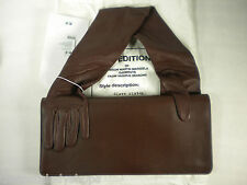 Maison Martin Margiela MMM x H&M Glove Clutch Handbag Brown Leather NEW