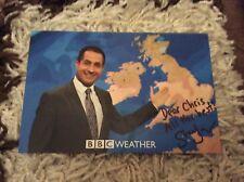 STAV DANAOS (BBC WEATHER) SIGNED CAST CARD