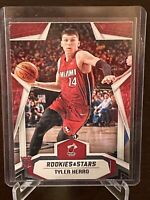 2019 - 2020 Panini Rookies And Stars Tyler Herro Rookie #677 Miami Heat Mint