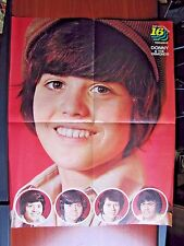 Pop-Out Poster from 16 magazine -Donny & The Osmonds 16 1/2 x 21 inch