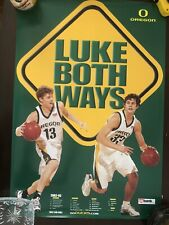 2002-03 Oregon Ducks Basketball Luke Both Ways Poster Luke Ridnour Luke Jackson