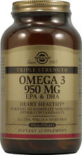 Triple Strength Omega-3 EPA & DHA, Solgar, 100 gelcap 950 mg