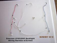 Emerson LF401EM5 Backlight Wiring Harness w/Screws