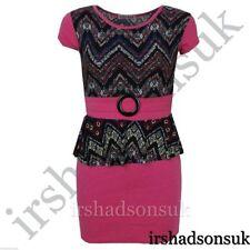 Robes soirées roses courts pour fille de 2 à 16 ans