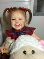 !! Beautiful Happy little Reborn GIRL TODDLER Doll ~  Mila !!