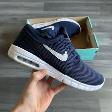 NIKE SB STEFAN JANOSKI MAX NAVY BLUE TRAINERS SHOES UK8 US9 EUR42.5 631303-407