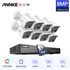 ANNKE 4K Ultra HD 5MP/8MP CCTV Security Camera System 8CH DVR Home Outdoor 0-4TB