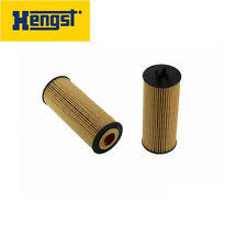 For Mercedes CLS63 G63 ML63 S63 E63 Set of 2 Engine Oil Filters Hengst E155HD122