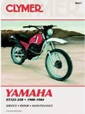 Clymer Service Manual Maintenance Repair Book M417 Yamaha XT125-250 1980-1984