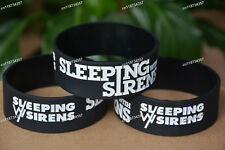 "Sleeping With Sirens SWS Wristbands |1"" Wide