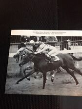 L1-3 Ephemera 1968 Small Picture Horse Racing Windsor Lucyrowe Lady Jane Gordon