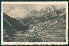 Trento Campitello Valle di Fassa cartolina QT4952