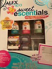 Alex Spa sweet escentials energy roll on kit with essential oils