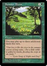 SUMMER BLOOM Visions MTG Green Sorcery Unc