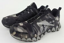 the latest c85b0 72ec9 Reebok Mens Boys Size 5 Zig Wild TR2 Zig Tech Camo Shoes Black Gray Rare  Limited