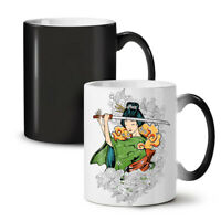 Katana Girl Art NEW Colour Changing Tea Coffee Mug 11 oz | Wellcoda