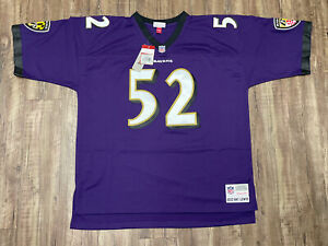 Men's Mitchell & Ness Ray Lewis 2000 Throwback Jersey Size 2XL Stitched