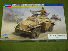 Tedesco Sd. KFZ 222 LEICHTER 2cm 1/35 Hobby Boss 82442