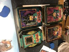 Yugioh tins lot jinzo joey, buster blader, gearfried, yugi Yu-gi-oh cards CNY