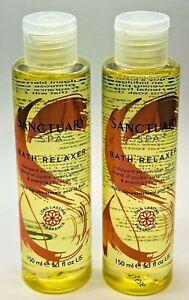 Sanctuary Spa Bath Oil Relaxer Skin Softening 150ml X2