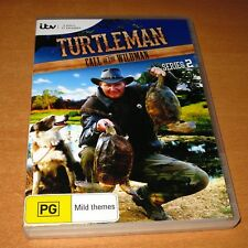TURTLEMAN : CALL OF THE WILDMAN - SERIES 2 ( DVD , 3 DISC SET REGION 4 ) AS NEW