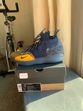 Nike Zoom KD 11 Chinese Zodiac Basketball Shoes Size 10.5  Navy Gold AO2604-400